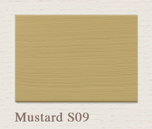 painting the past eggshell finish mustard es09 paint. Black Bedroom Furniture Sets. Home Design Ideas